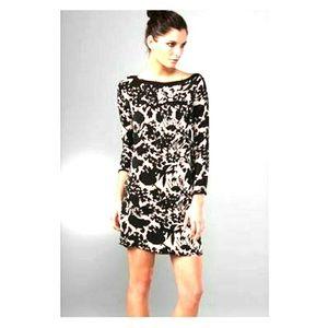 Diane Von Furstenberg Tiponi Black print Dress